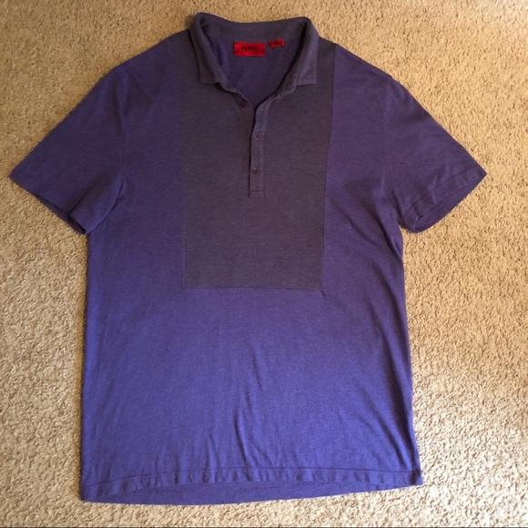 ef79a7d35 Hugo Boss Shirts | Mens Polo Shirt Purple Small | Poshmark